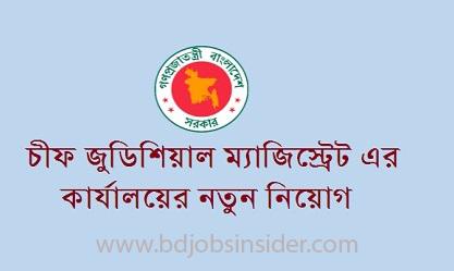 Chief Judicial Magistrate Job Circular 2019