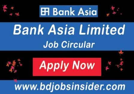 bank Asia limited job circular